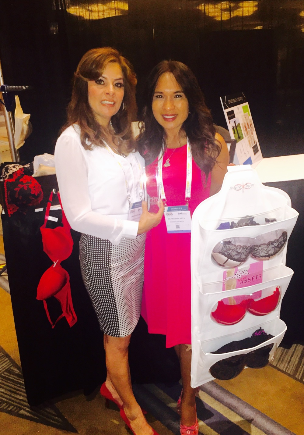 Frances Prado on left and business partner board certified anti-aging doctor Melinda Silva, MD